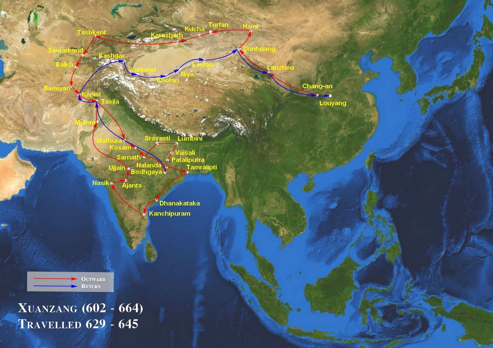 Chinese-Pilgrim-Xuanzang