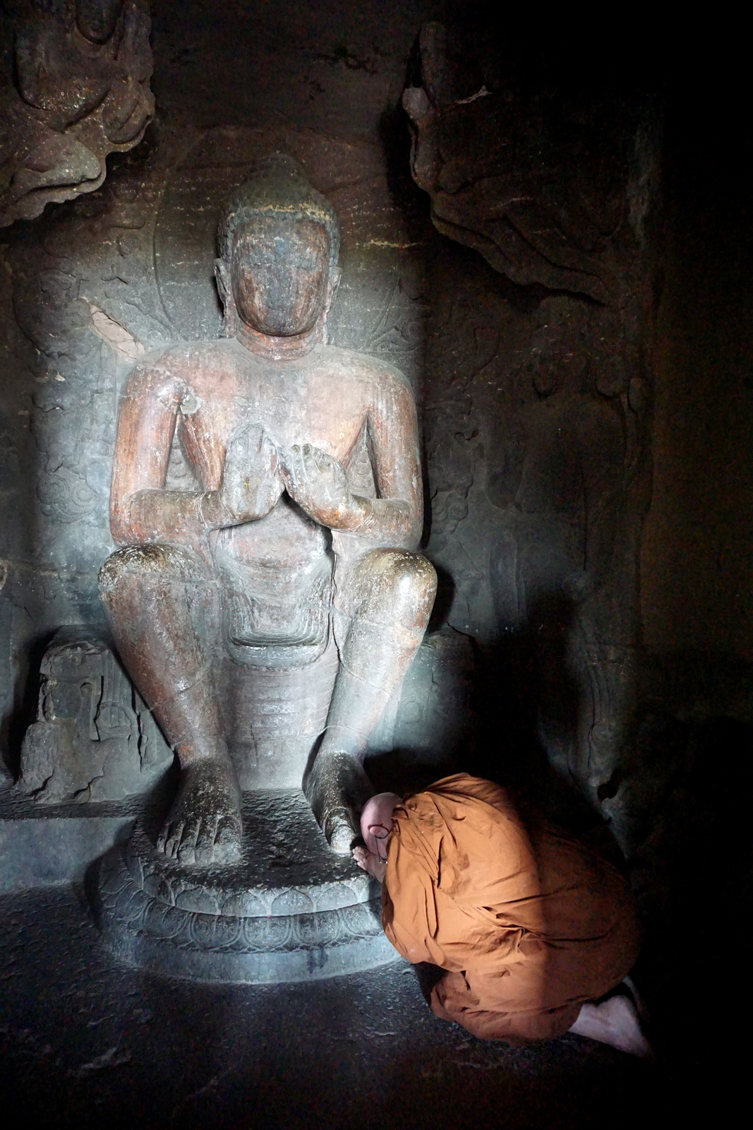 Aurangabad Caves, Worshipping