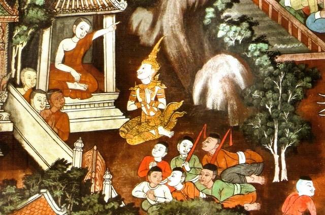 Mahinda tell the King to bring Ven. Sanghamitta