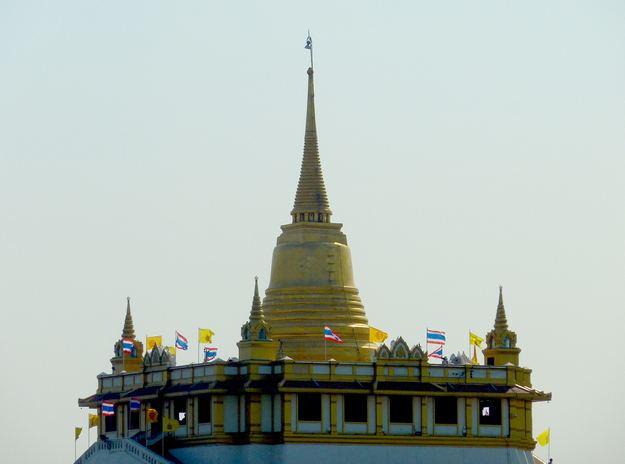The Chedi atop Wat Saket
