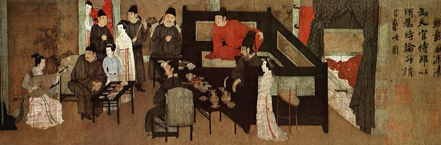 Gu Hongzhong's Night Revels