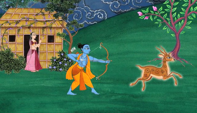 Rama and the Deer