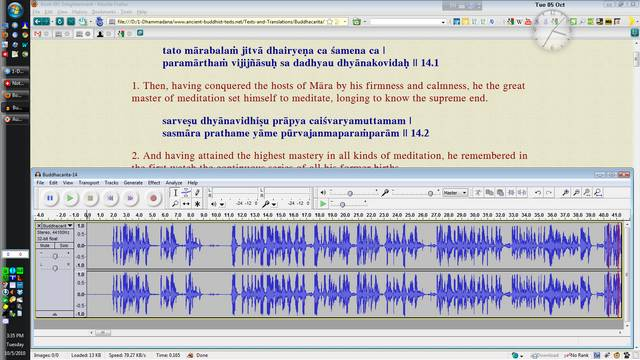 Audacity Workspace Before